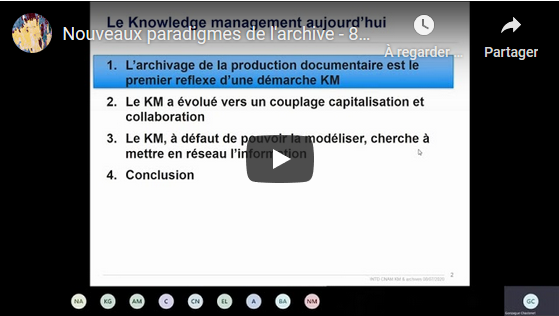 KM-archivage